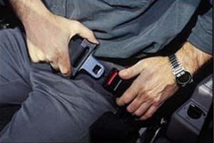 هشداردهنده الکترونیکی نبستن کمربند ایمنی اتومبیل