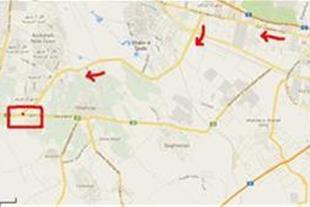 سایت مسکن صناعی در نقشه گوگل