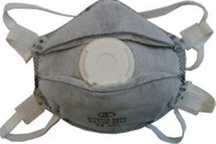 ماسک تنفسی سوپاپ دار کربنی مدل ffp3 8636
