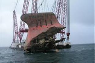 خرید ضایعات کشتی ، یدک کش  غرقی و سالم از 200 تن