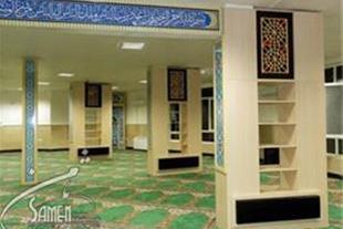 دیوارپوش چوبی سنتی برای مساجد ونمازخانه ها