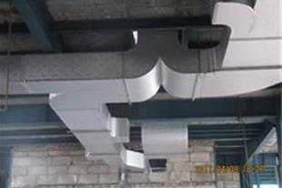 کانال کولر سیستم شوتینگ دریچه تنظیم هوا کانال هوا