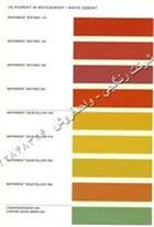 رنگ سیمان،رنگ بتن،سیمان رنگی،بایفروکس آلمان