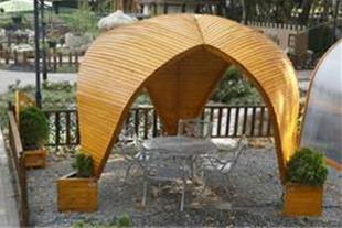 آلاچیق مدرن چوبی