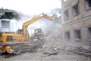 تخریب ساختمان خریداهن الات وضایعات