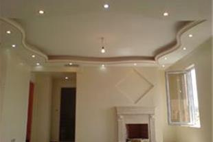اجرای سقف کاذب ساده و طرح دار(رابیتس بندی)دربیرجند
