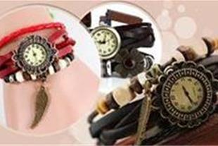 خرید پستی ساعت بند چرم الیزابت زنانه