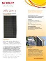 سلول های خورشیدی شارپ - 1