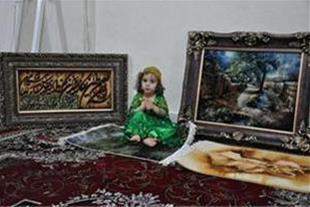 تابلو فرش -یزد - قالی - تبدیل عکس به تابلو