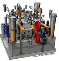 انجام کلیه امور مهندسی معکوس قطعات و ساخت قالب