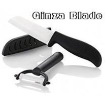 فروش ست چاقو سرامیکی گینزا بلید با پوست کن سرامیکی
