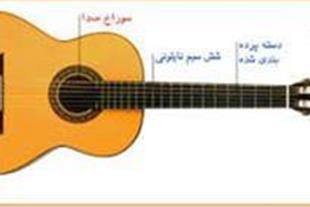 آموزش گیتار کلاسیک 09125096653 - 1