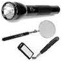 انواع آینه های بازرسی ، ذره بین بازرسی و چراغ قوه