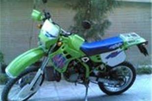 کاوازاکی kdx125 پلاک ملی