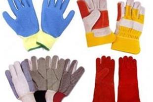 دستکش چرمي صنعتي