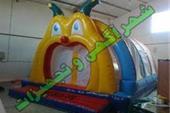 استخر توپ بادی حلزون نیم استوانه بزرگ