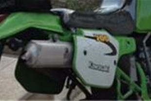 فروش موتور سنگین تریل kdx200پلاک ملی