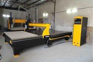 فرز CNC سه محور چوب با قابلیت نصب روتاری