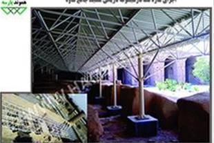 سازه فضاکار مسجد جامع تاریخی ساوه
