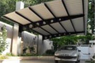 ساخت پارکینگ خودرو و سایبان پارکینگ