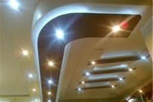 طراحی و اجرای سقف کاذب کناف - 1