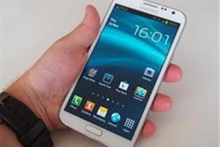گوشی طرح اصلی Samsung Galaxy Note II جاوا