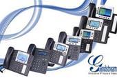 IP Phone  تلفن تحت شبکه ای سین، گرنداستریم و یی لی