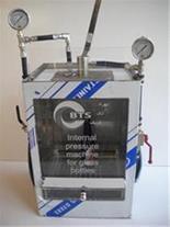 دستگاه تست فشار داخلی بطری های شیشه و پت