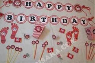 وسایل جشن تولد با تم دزدان دریایی