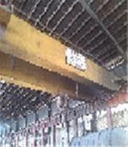 فروش یک دستگاه جرثقیل سقفی 5+60تن