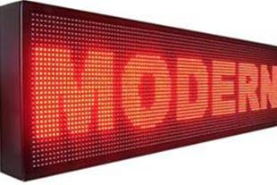 فروش ویژه انواع تابلوهای روان و ثابت LED