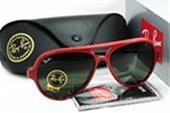 عینک ریبن کت قرمز اصل ایتالیا uv 400