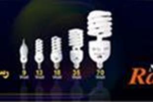 فروش و پخش لامپ کم مصرف رسانور به صورت عمده و تعدا