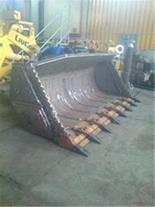 ساخت و تعمیر انواع باکت بیل مکانیکی لودر