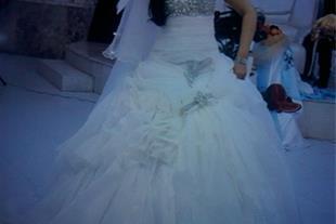 کرایه لباس عروس فوق العاده زیبا و شیک زیر قیمت