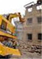 تخریب ساختمان بتونی و کلنگی وگودبرداری