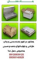 کارتن غذا بیرون بر کفی شیرینگ جعبه بسته بندی غذا