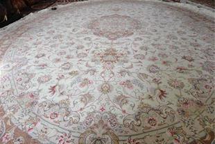 فروش ویژه فرش دستبافت بیضی شکل دوازده متری