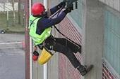 کار در ارتفاع بدون داربست