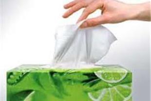 صادرات دستمال کاغذی