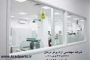شیشه سربی - آماده سازی محل نصب دستگاههای پرتوساز