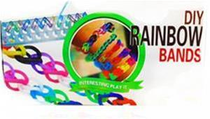 دستبند ساز رنگین کمانی Rainbow - 1