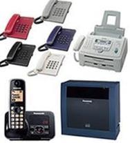 سانترال پاناسونیک ، تلفن بیسیم ، تلفن رومیزی ، فکس