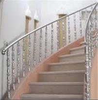 طراحی و نصب نرده و حفاظ استیل فروش لوله استیل