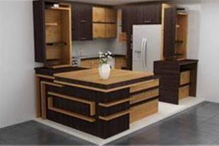طراحی و اجرای کابینت اشپزخانه