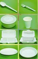 ظروف یکبار مصرف گیاهی بر پایه نشاسته ذرت