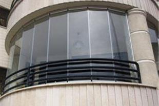 شیشه بالکن سکوریت تا شونده