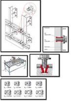 تولید ، واردات و عرضه انواع قطعات زیرسازی نمای خشک
