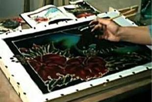 مرکز تخصصی باتیک، نقاشی، رنگرزی و چاپ پارچه