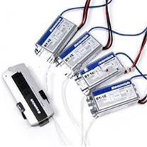 دستگاه قطع و وصل برق کنترلدار 4 کانال 4 گیرنده